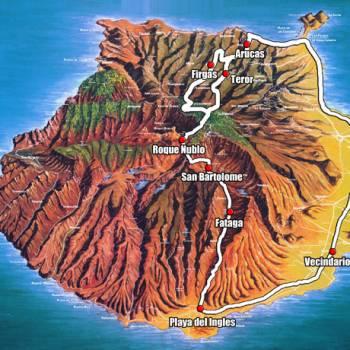 Panorama van Gran Canaria