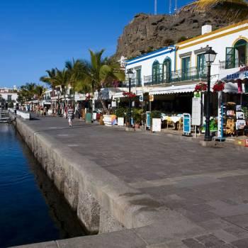 Puerto Mogán met de vrijdagmarkt